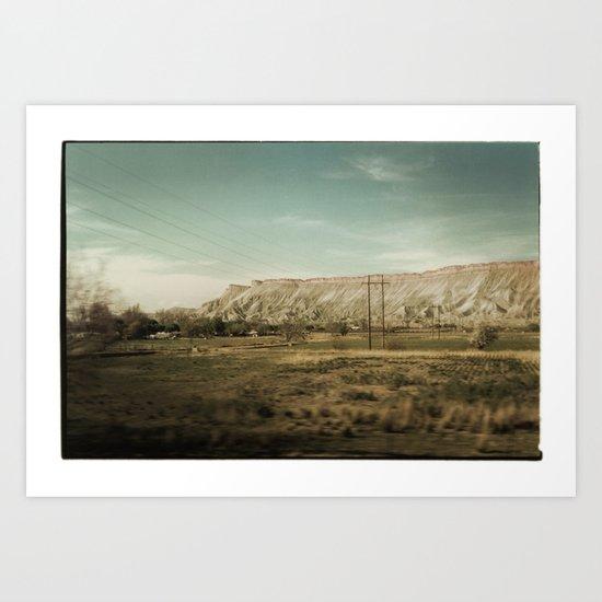 Colorado Foothills Art Print