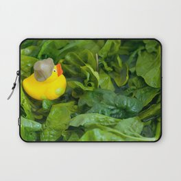 Spinach Duck Laptop Sleeve
