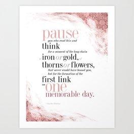 Pause & Think Art Print