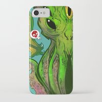 cthulhu iPhone & iPod Cases featuring Cthulhu by Tyler Lederer