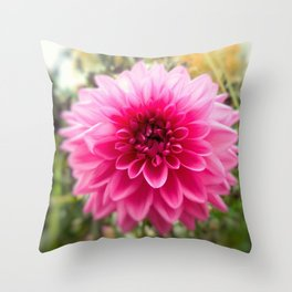 Flower of Spite Throw Pillow