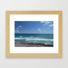 Alone at Sea Framed Art Print