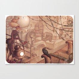 Steamtown Canvas Print
