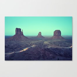 monument valley 5 Canvas Print
