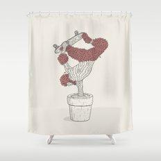 Handplant Shower Curtain