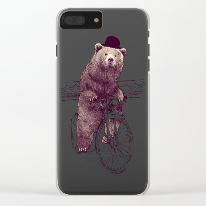 Barnabus Clear iPhone Case