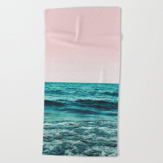 Ocean Love #society6 #oceanprints #buyart Beach Towel