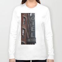 chelsea Long Sleeve T-shirts featuring Chelsea by Leah Moloney Photo