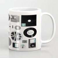data Mugs featuring Data by Florent Bodart / Speakerine
