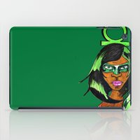 green lantern iPad Cases featuring Green Lantern by N3RDS+INK
