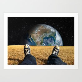 World view Art Print