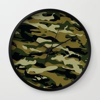 military Wall Clocks featuring Military  by ''CVogiatzi.