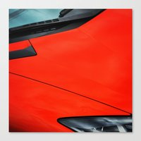 lamborghini Canvas Prints featuring Lamborghini by Guillaume '96' Bonte