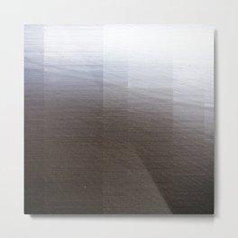 Black Sands I Metal Print