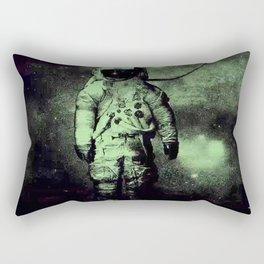Brand New deja entendu in green hue Rectangular Pillow
