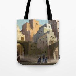 Fantasy Moroccan City Tote Bag