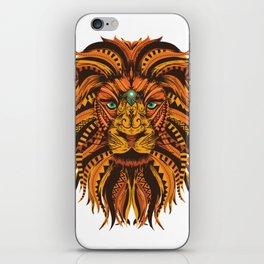 Color Mandala Lion iPhone Skin