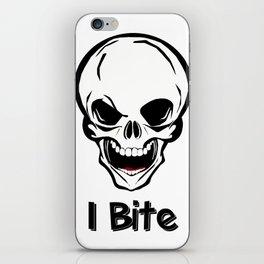 I bite iPhone Skin