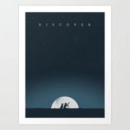 Discover Art Print