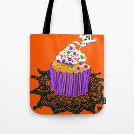 James' Halloween Birthday Tote Bag