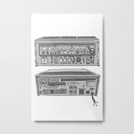 Jx3 Music Series - TWO Metal Print