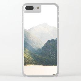 The Montana Collection - Lake Como Clear iPhone Case