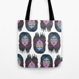 Reptile Girl Tote Bag