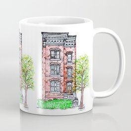 DC Row House No. 3 II Capitol Hill Coffee Mug