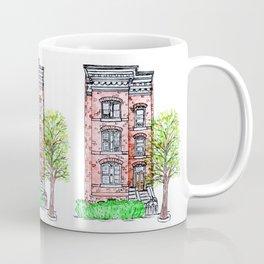 DC Row House No. 3 II Capitol Hill Coffee Mug