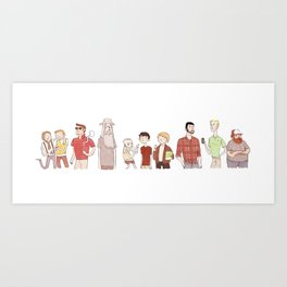 The Broship of the Ring Art Print