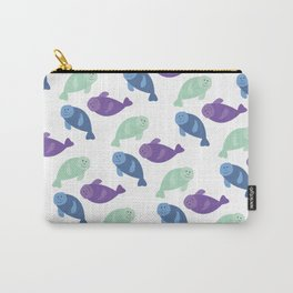 Manatee Pattern Fun Carry-All Pouch