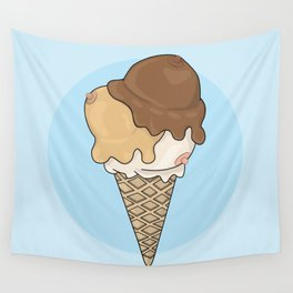 Cold Treats - Cone Wall Tapestry