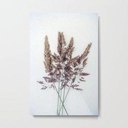 Velvet Grass Metal Print