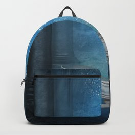 Awesome sleeping ice dragon Backpack