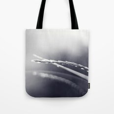 Evening Light in Black and White Tote Bag