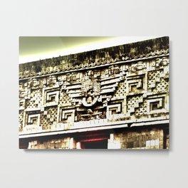 Mayan Architecture Metal Print
