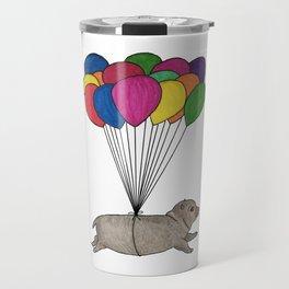 A Smol Hippo Travel Mug