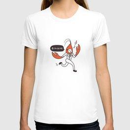 Crayfish Man - Work overtime T-shirt