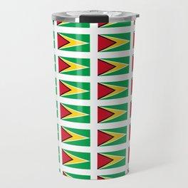 Flag of Guyana -Guyanese,Guyanes,Georgetown,Linden,Waiwai Travel Mug