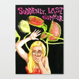 Suddenly last summer Canvas Print