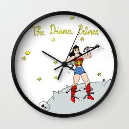 The Diana Prince Wall Clock