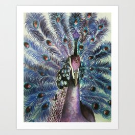 Violet Pride Art Print