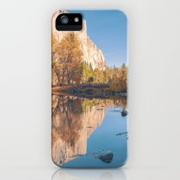 Yosemite Valley Reflections iPhone Case