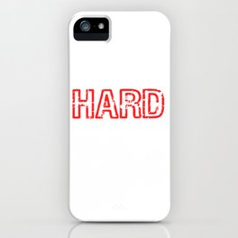 """Are You A Hard Person? A Perfect Tee For You Saying """"I'm Hard To Kidnap"""" Strong Kidnapping iPhone Case"""