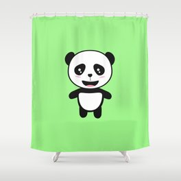 Cute Panda Kawaii T-Shirt for all Ages Dyo0s Shower Curtain