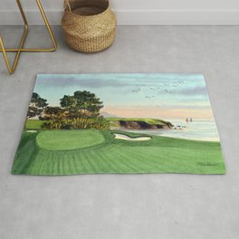Pebble Beach Golf Course 5th Hole Rug
