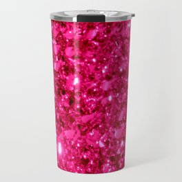 SparklE Hot Pink Travel Mug