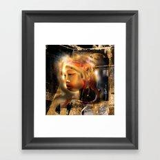 Ceremonial Queen Framed Art Print