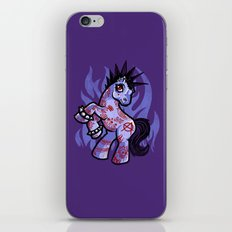 My Punkrock Pony iPhone Skin
