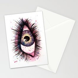 cosmic eye 2 Stationery Cards